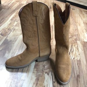 Laredo beige cowboy boot